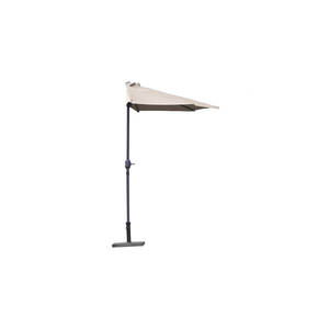 Demi-parasol rectangulaire City Green Muscade 379104