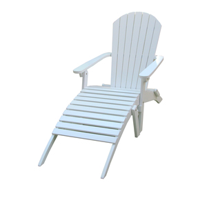 Chaise longue Adirondack blanc 379147