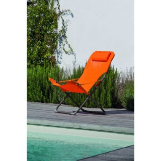 Fauteuil Relax Easy orange 379209