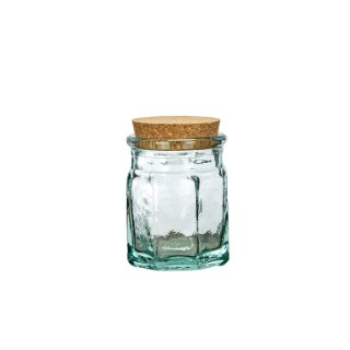 Bocal en verre recyclé Ø 9 x H 11 cm 379249