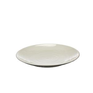 Assiette plate effet cercle 379303