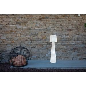 Lampadaire entièrement lumineux blanc secteur 379356
