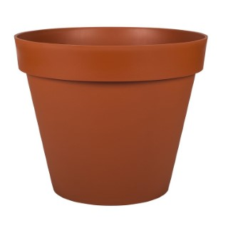 Pot gamme Toscane orange Ø 48 cm 379375