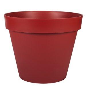 Pot gamme Toscane rouge Ø 48 cm 379388