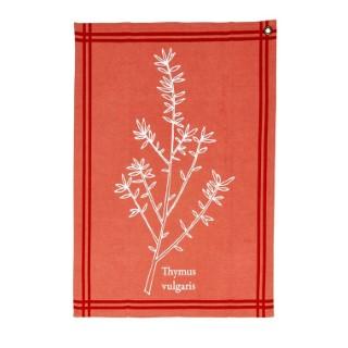 Torchon aromatique thym 50x70 cm 379624
