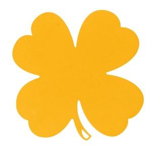 Dessous de plat trèfle jaune 379740