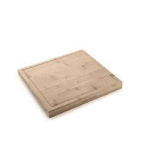 Planche à découper en bambou avec arrêt 379836