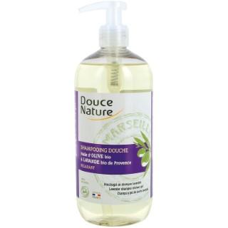 Shampoing douche ho lavande Douce Nature 500 ml 380918