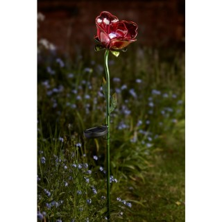 Lampe Rose Rouge 381017