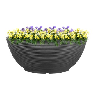 Coupe Arena grise Ø 115 cm 382129