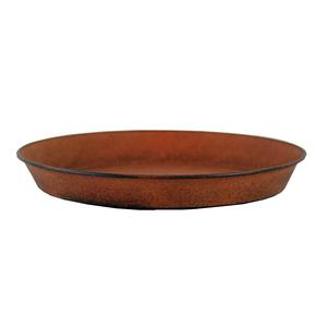 Soucoupe pour pot Reb Brun antique - Ø 24 cm x H3 cm 382220
