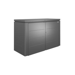 Coffre highboard gris foncé 200x84x127 cm 382357