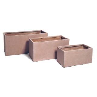 Bac rectangulaire gamme Genève L60xl30xH30 cm 385465