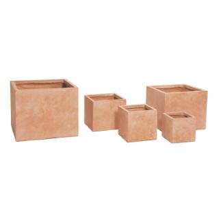 Pot carré gamme Genève L44x l44x H38 cm 385476