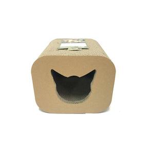 Griffoir pour chat Scratcher Cat head Box 30x30x25 cm 385483
