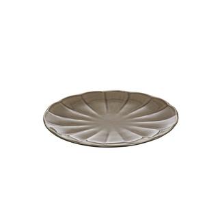 Assiette plate Venice grise 385706