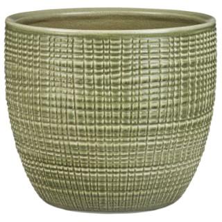 Cache-pot 866 Menta Ø19 x H 16,9 cm Céramique émaillée 386953