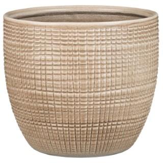 Cache-pot 866 Canela Ø 25 x H 22,1 cm Céramique émaillée 386962