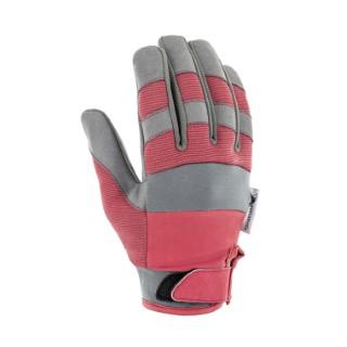 Gants Confort coloris Rouge en polyamide élasthanne Taille 6 388172