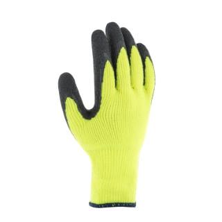 Gants Isomax coloris vert latex et acrylique Taille 9 388210