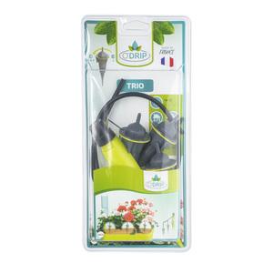 Kit jardinière O'Drip plastique 13x6x29 cm 388221