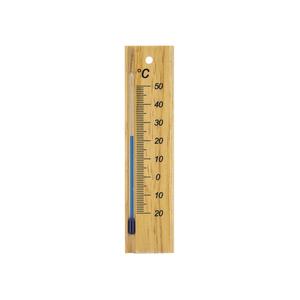 Thermomètre en bois 15 cm 388232