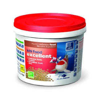 Nourriture poisson de bassin Ichi food excellent mini 1 kg 391809
