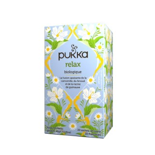 Infusion relax Pukka 20 infusettes 40g 395616