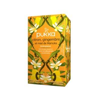 Infusion Pukka® citron, gingembre et miel de manuka 395749