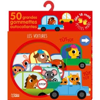 Les Voitures Gommettes Petites Mains 18 mois Éditions Lito 395903