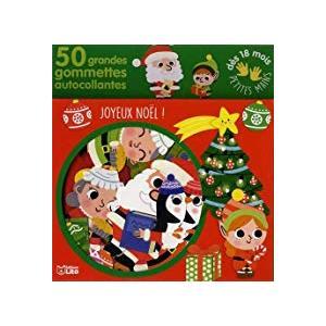 Gommettes pour les petites mains joyeux Noël éditions Lito 395904