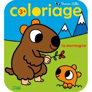 La Montagne Coloriages Marion Billet 3 ans Éditions Lito 395919