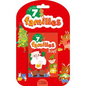 Jeu des 7 familles Noël des éditions Lito 395966