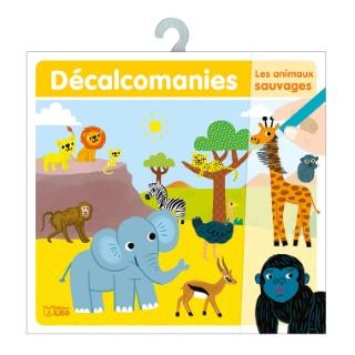 Les animaux Sauvages Mes premières Décalcomanies 4 à 6 ans Éditions Lito 395975