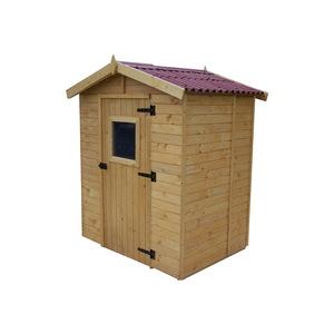 Abri Savoie 2,61 m2 avec plancher livré et monté 396357