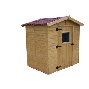 Abri Savoie 3,55 m2 avec plancher livré et monté 396368