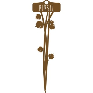 Étiquette Persil 34,5 cm 398201