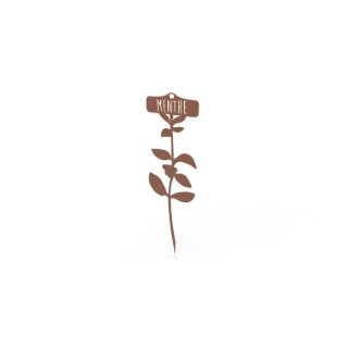 Étiquette Menthe 34,5 cm 398202