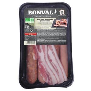Assortiment de viandes pour choucroute 485g 399857