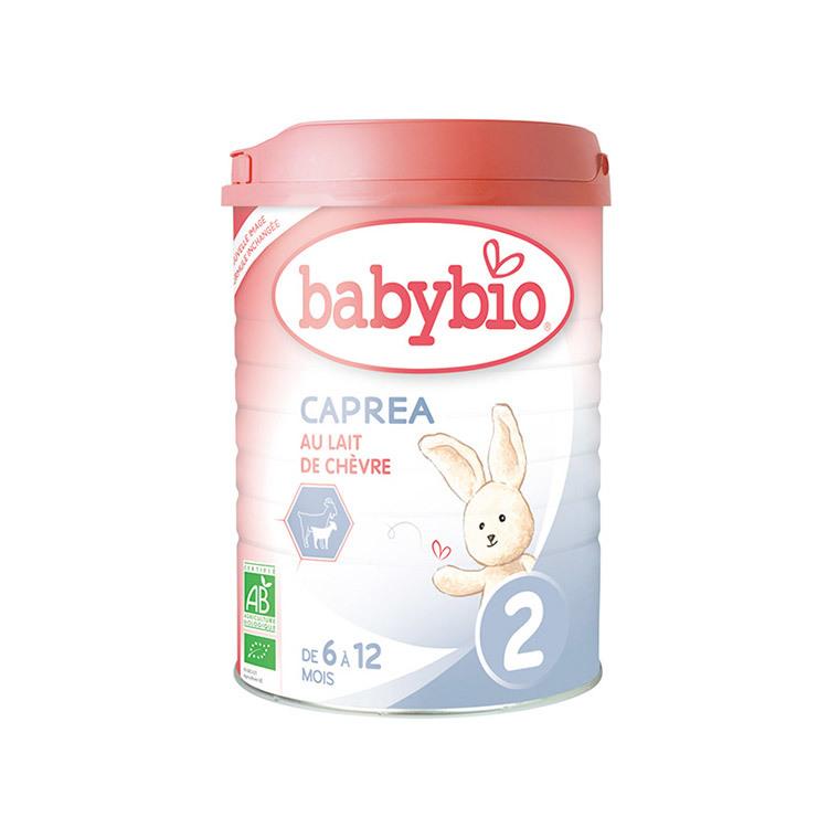 Lait infantile Babybio 2e âge caprea bio 900 g 300877