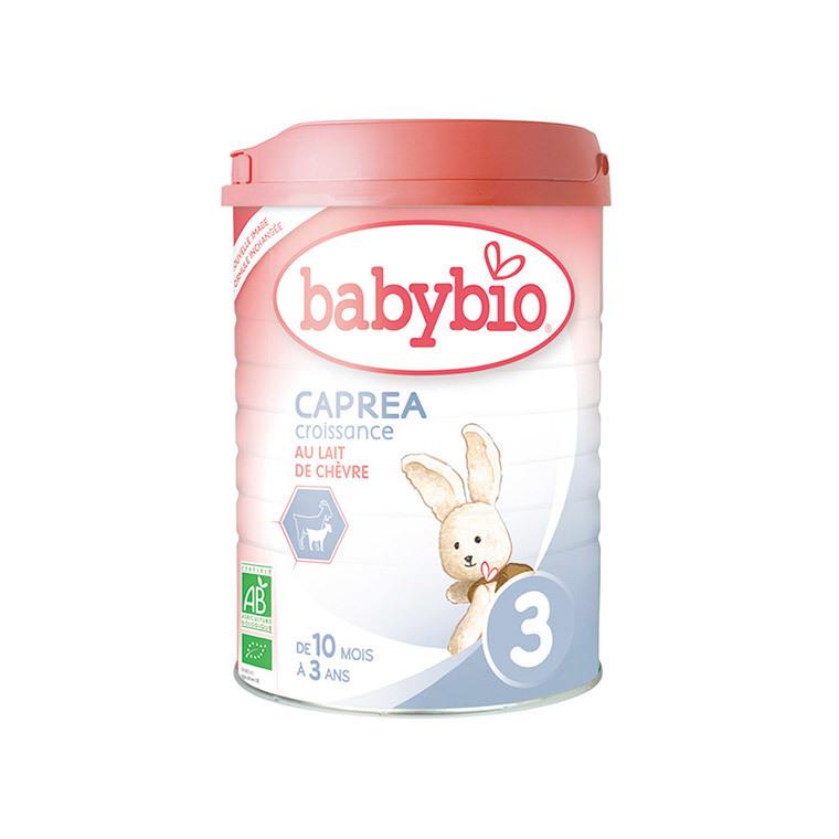 Lait infantile Babybio 3e âge caprea bio 900 g 300878