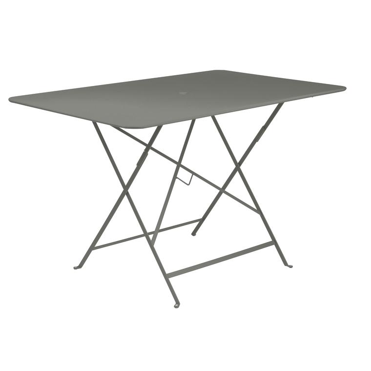 Grande Table pliante rectangulaire couleur Romarin 117 x 77 x 74 cm 300985