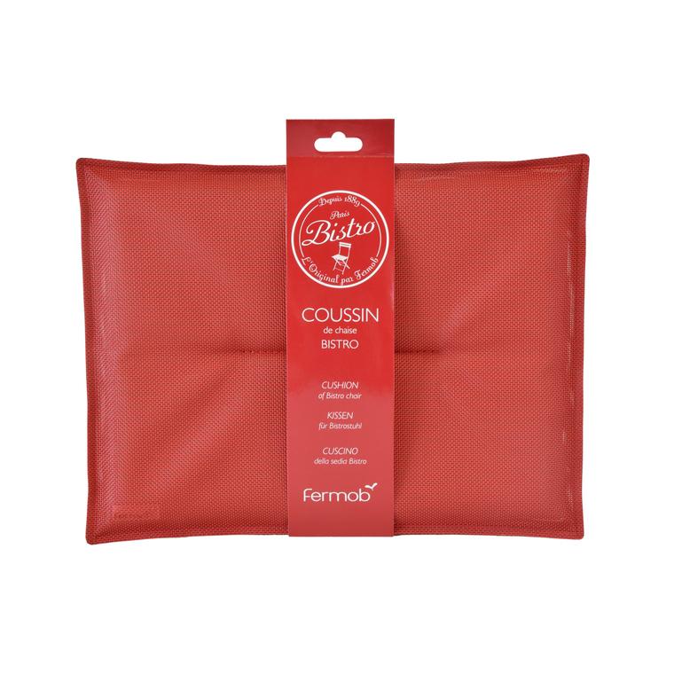 Coussin bistro coloris Piment 301001