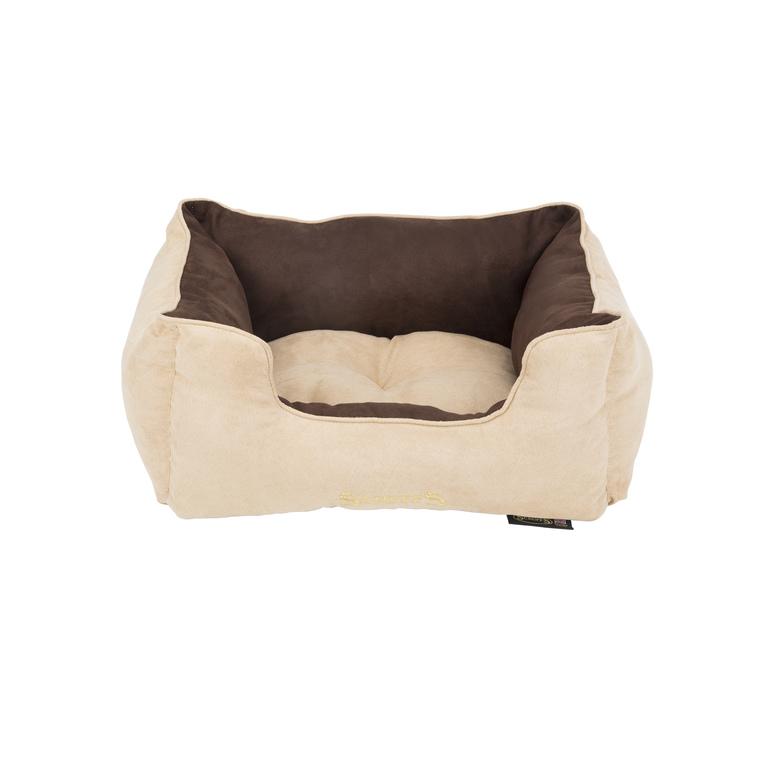 Panier marron clair pour chien Scruffs classic taille S 50 x 40 cm 302304