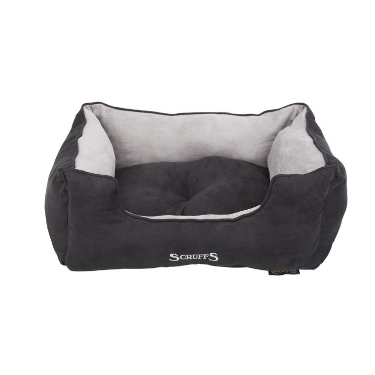 Panier noir pour chien Scruffs classic taille M 60 x 50 cm 302315