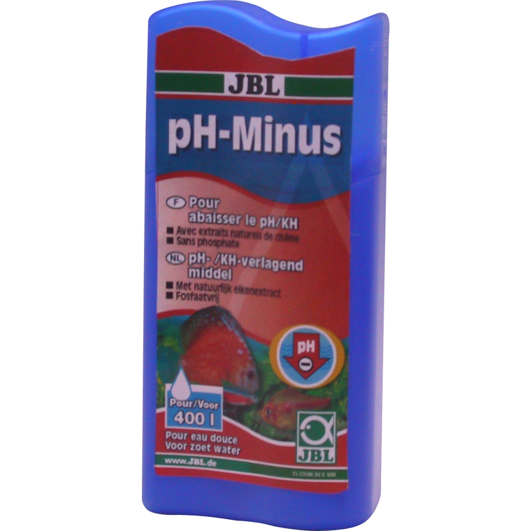 Conditionneur d'eau ph-minus Jbl bleu 100 ml 303387
