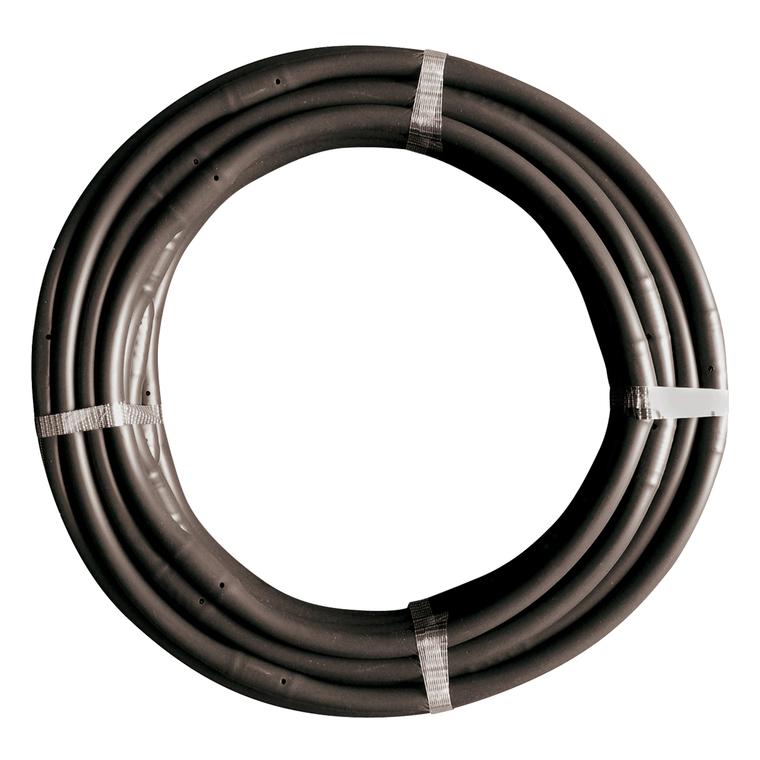 Tuyau Ø 16 mm 4 bars noir avec goutteurs intégrés 2 L/h 25 m 303397