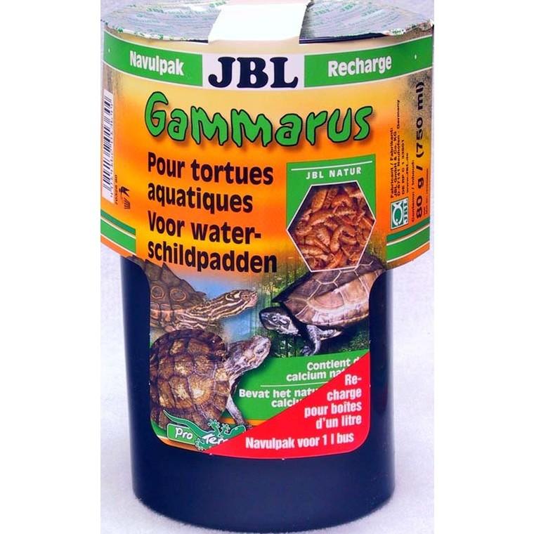 Recharge de gammarus marron pour tortues d'eau 750 ml 303419