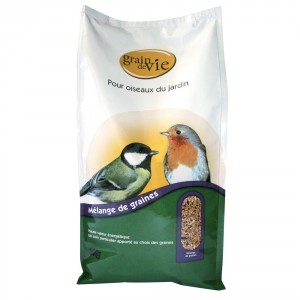Mélange de graines oiseau de la nature