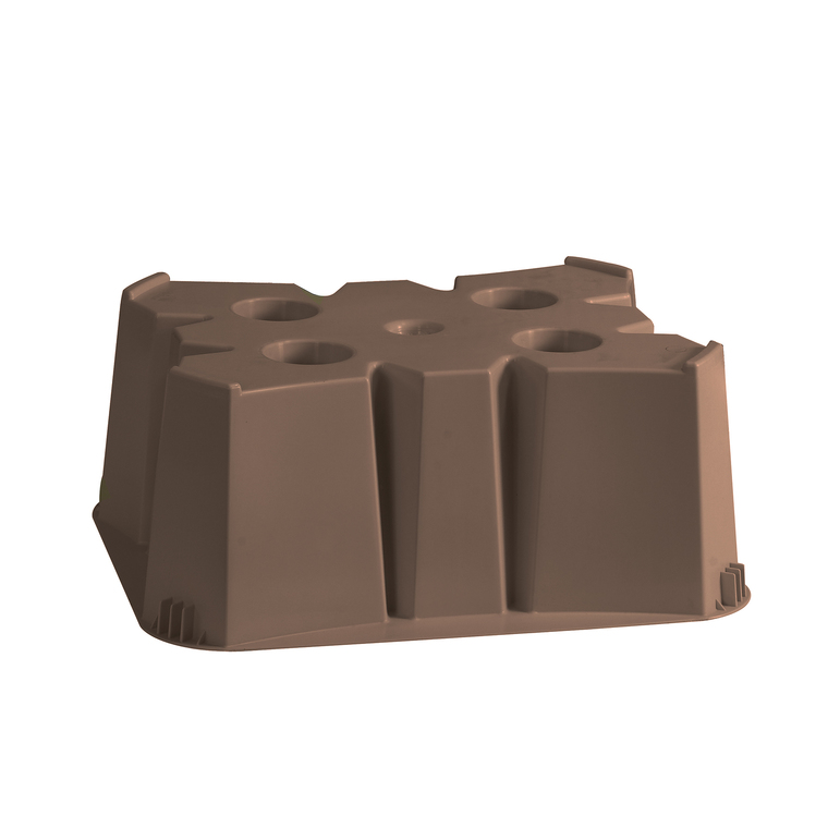 Socle pour récupérateur d'eau de 500 L – couleur taupe 304923